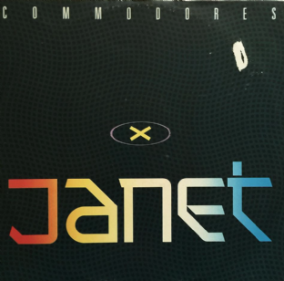 "Commodores - Janet (12"") (VG-/G+)"